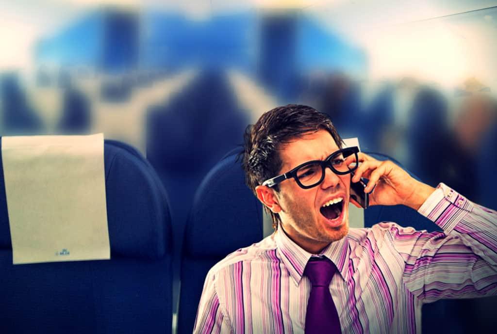 Τηλεφωνικές κλήσεις στο αεροπλάνο;
