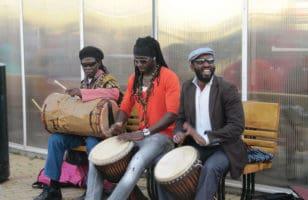 Σενεγαλέζοι μουσικοί του δρόμου