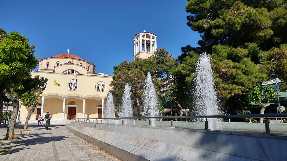 Μια ματιά στην πλατεία Αγίου Θωμά