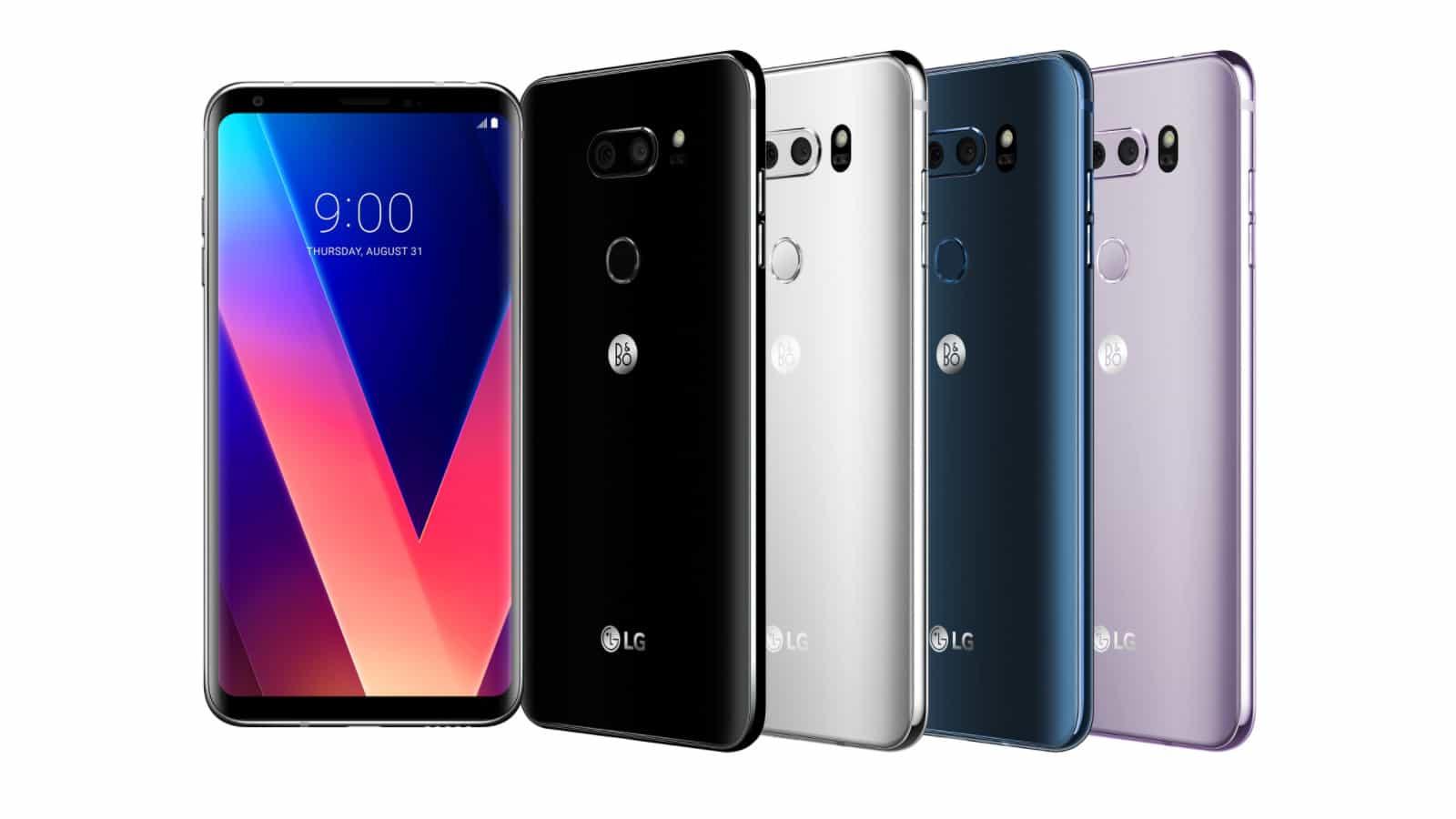 LG V30 επίσημα πλέον...