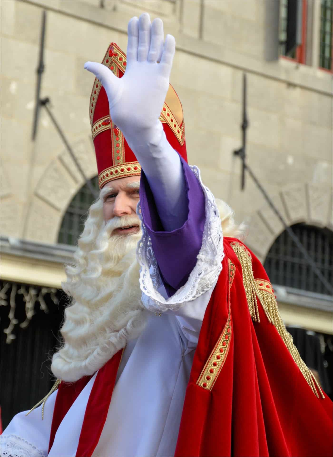 Άγιος Βασίλης αλά Ολλανδικά Sinterklaas