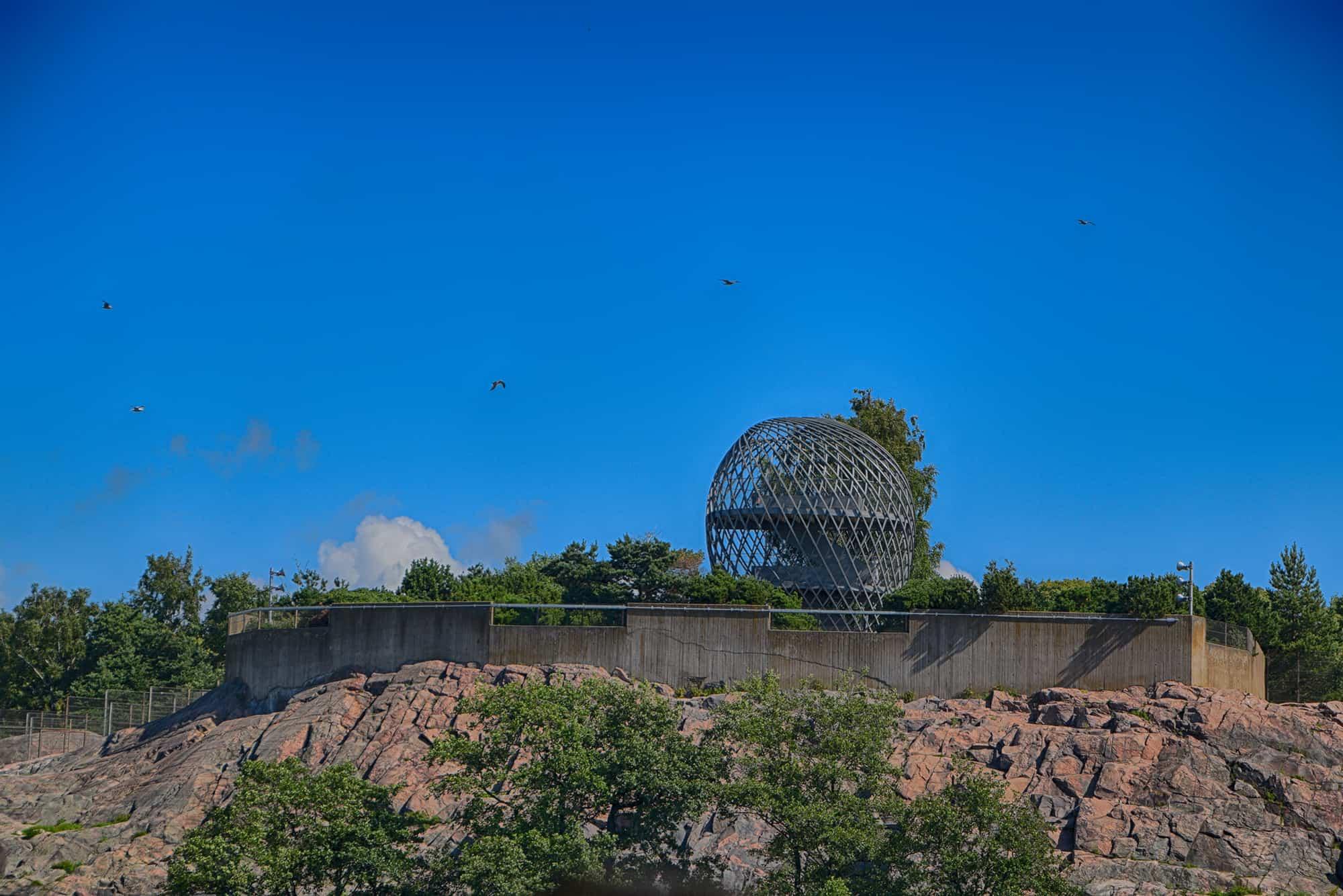 Το παρατηρητήριο στο ζωολογικό κήπο του Ελσίνκι