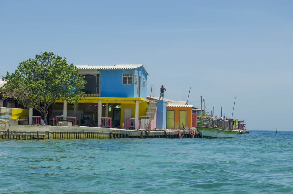 Santa Cruz del Islote το πιο πυκνοκατοικημένο νησί στον κόσμο