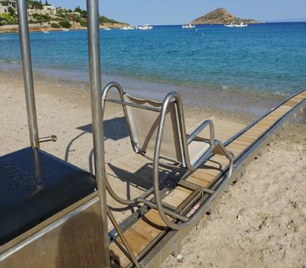 Πρόσβαση ΑΜΕΑ στη θάλασσα
