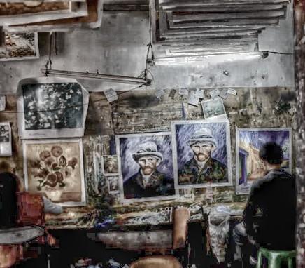 Ο Van Gogh της Shenzen