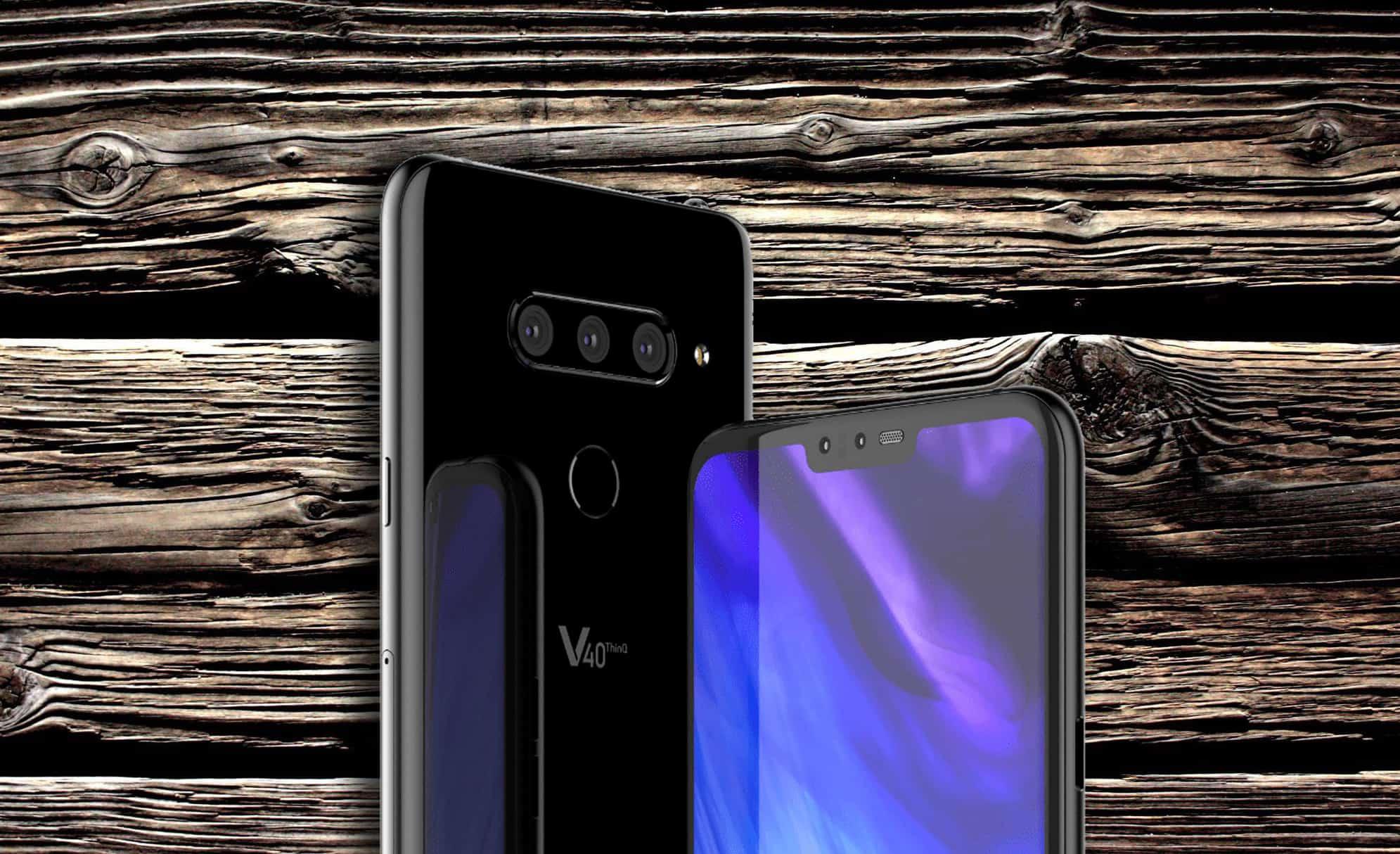 Το νέο LG V40 ThinQ