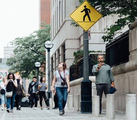 Περπάτημα στην πόλη