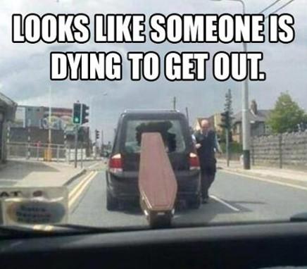 πολύ ωραία κηδεία