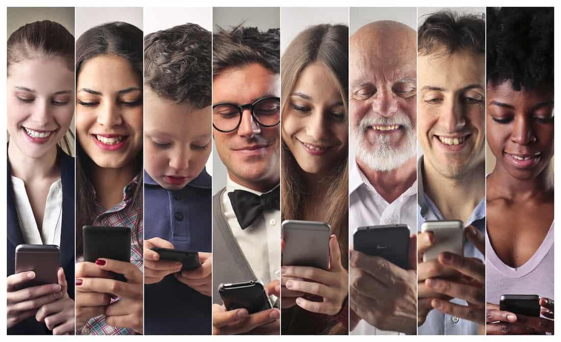 Η εποχή των smartphones και η χαμένη τέχνη της οπτικής επαφής