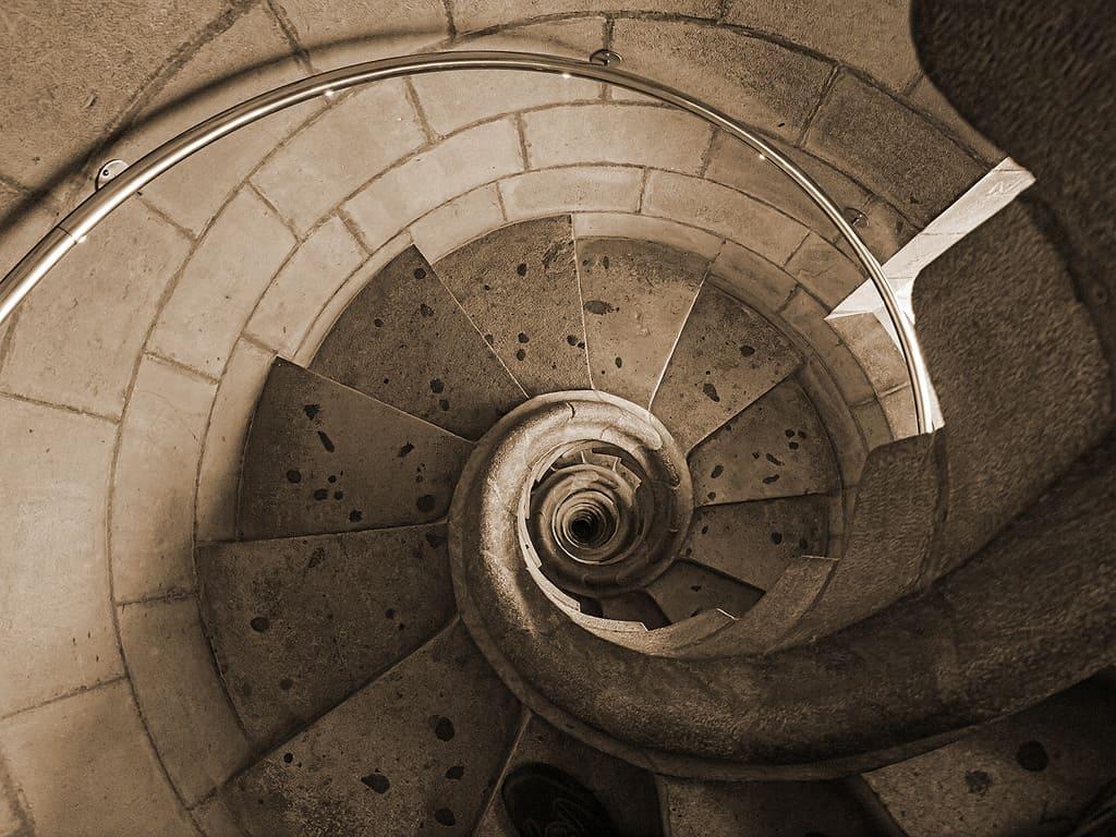Το σαλιγκάρι στο τέλος της σκάλας