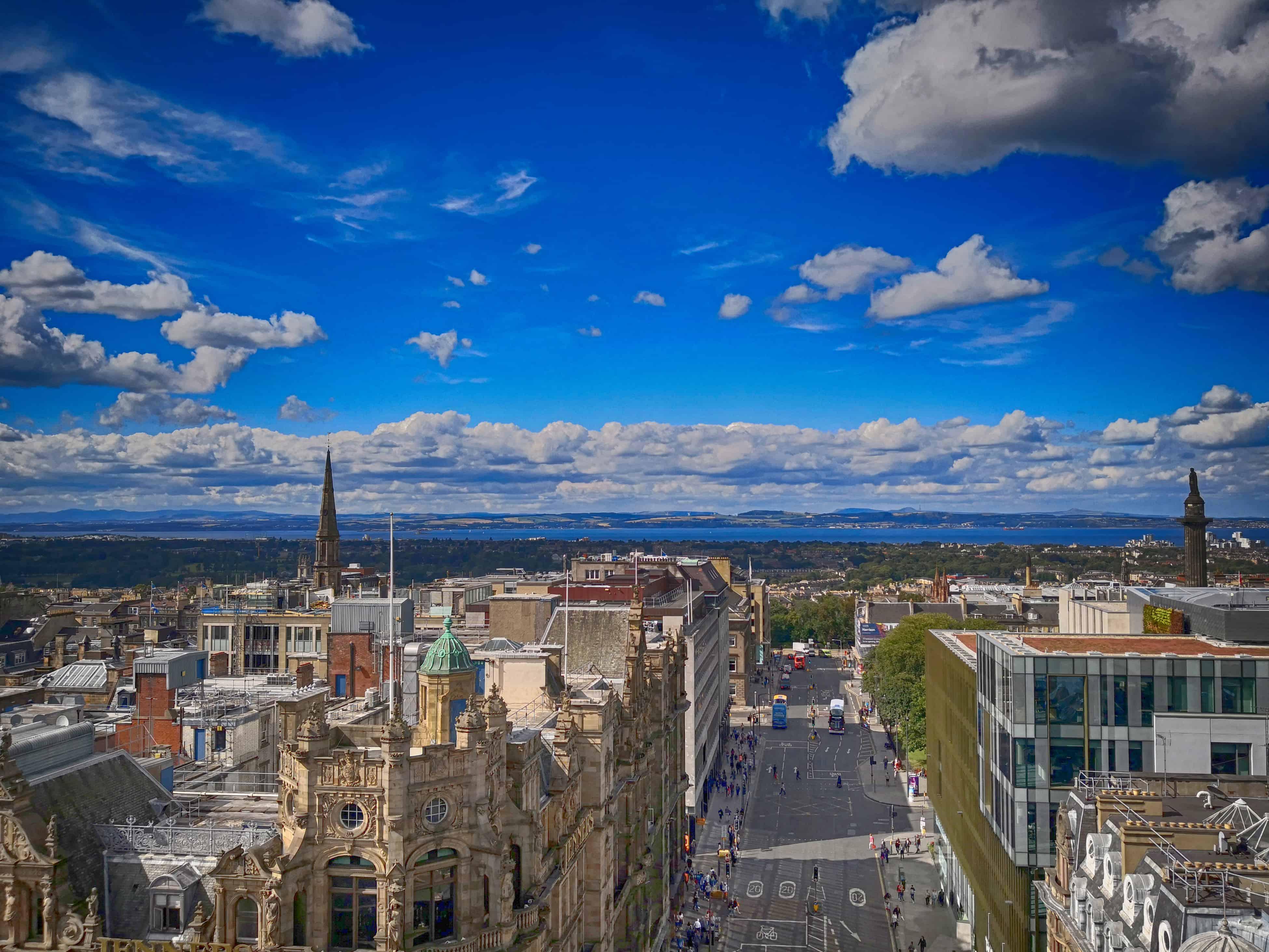 Φωτογραφίες από το Εδιμβούργο με το κινητό