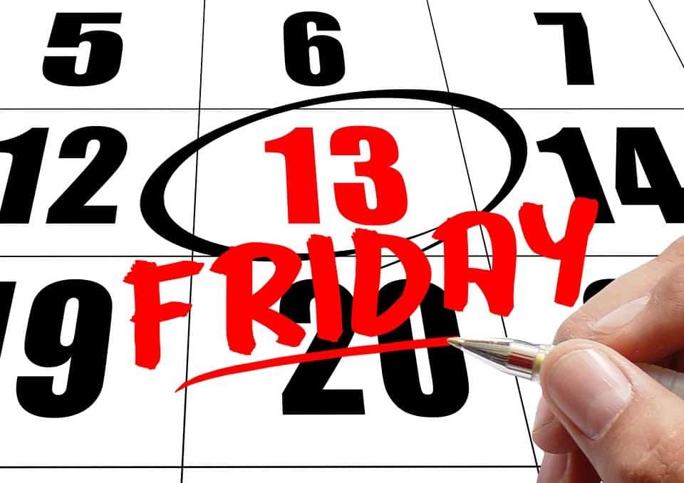 Προλήψεις και δεισιδαιμονία σε σχέση με την 13η μέρα του μήνα