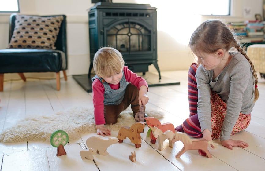 Ξύλινα παιχνίδια και μόλυνση του περιβάλλοντος
