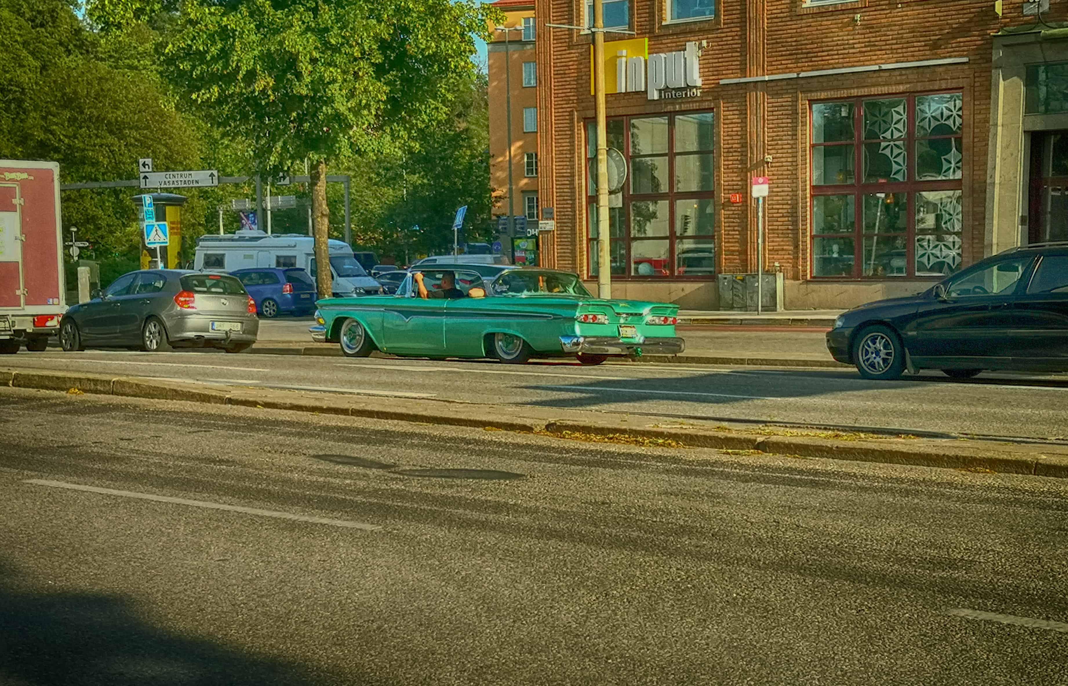 Κλασικά Αμερικάνικα αυτοκίνητα στην Στοκχόλμη