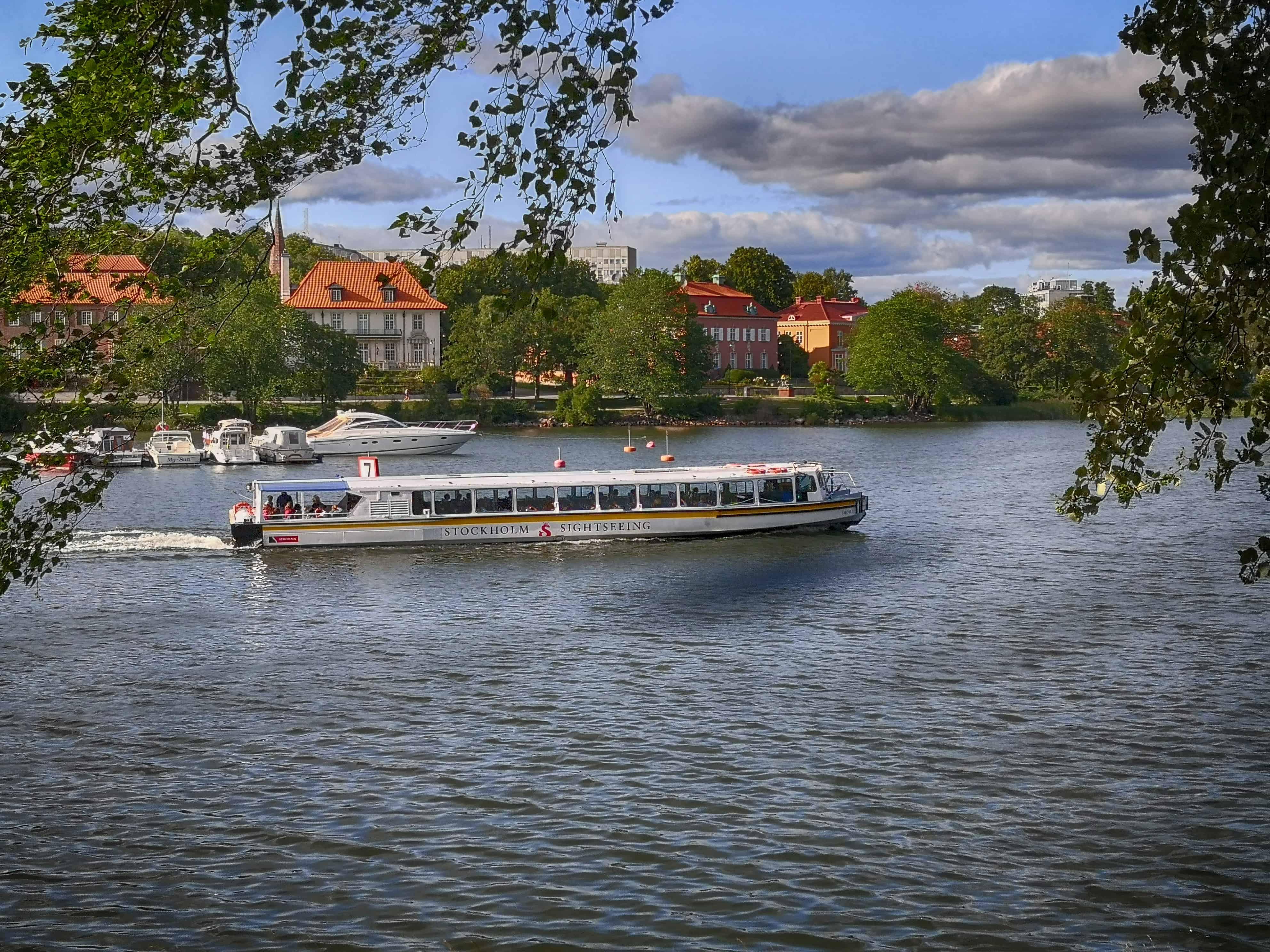 Φωτογραφίες από τα κανάλια της Στοκχόλμης