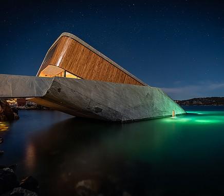 υποβρχιο εστιατοριο νορβηγια
