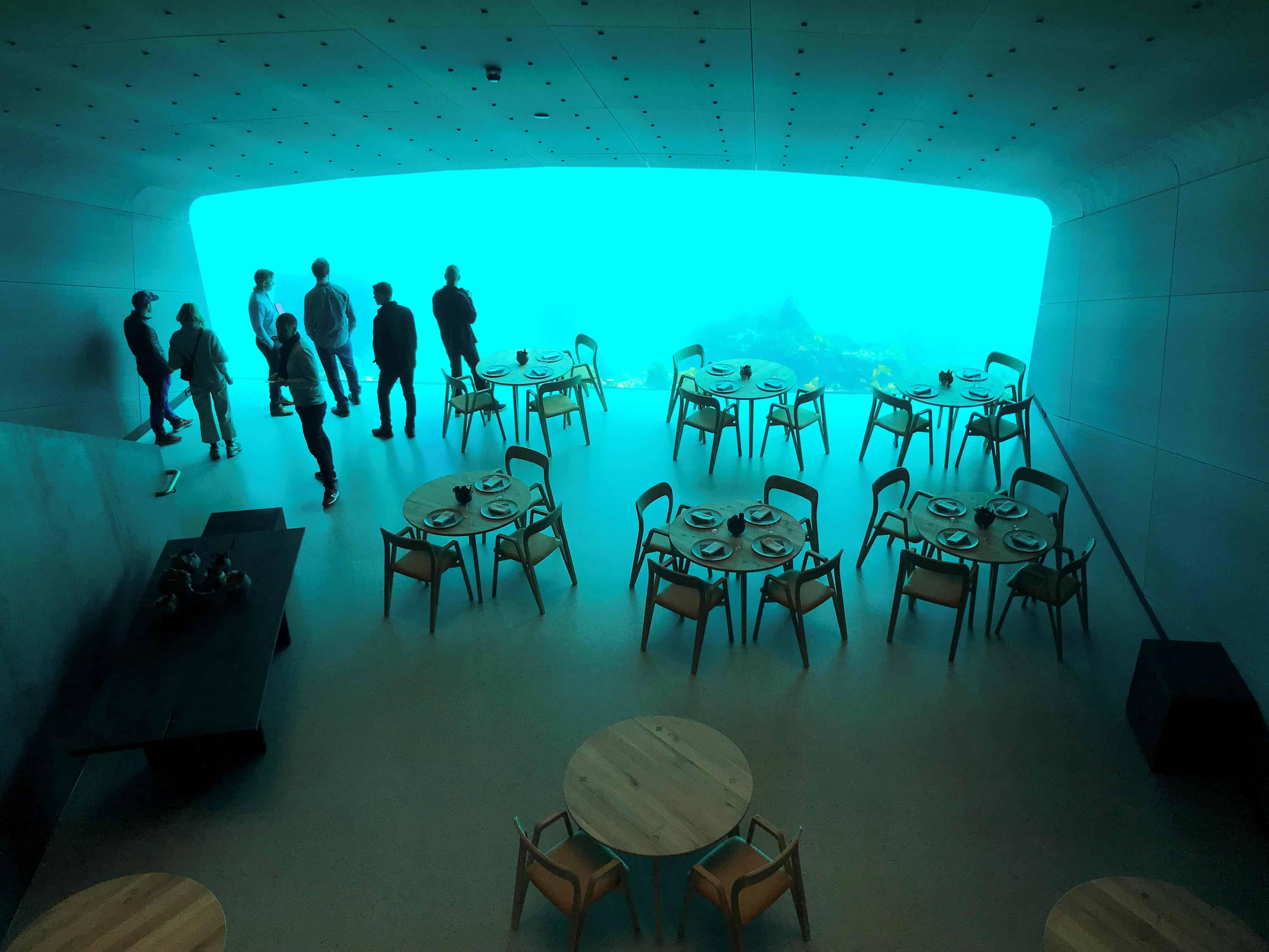 υποβρύχιο εστιατόριο Νορβηγία